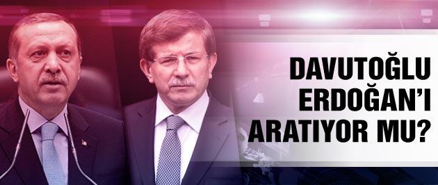 Ahmet Davutoğlu Erdoğan'ı aratıyor mu?
