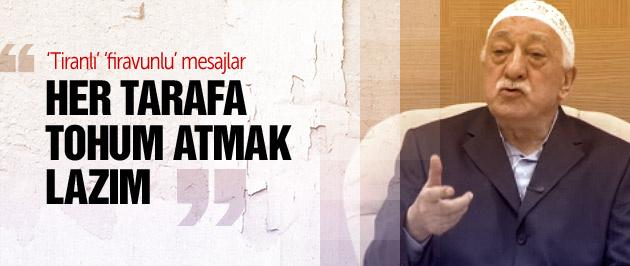 Fethullah Gülen: 10 tane insanı zimmetleyin