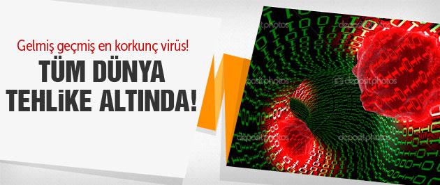 Korkunç virüs! Sistem çöktü!