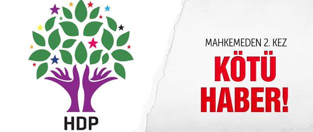 Mahkemeden HDP'ye kötü haber!