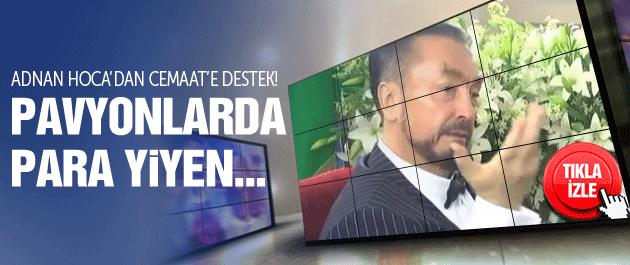Adnan Hoca'dan Kimse Yok Mu açıklaması