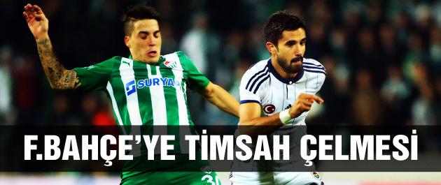 Bursa ile Fenerbahçe 1 puan ile yetindi