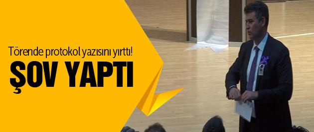 Ödül töreninde Metin Feyzioğlu şovu!