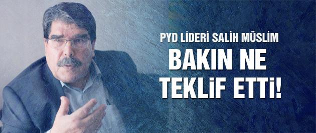 Salih Müslim'den olay Türkiye açıklaması