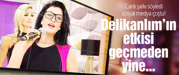 Tuğba Ekinci yine canlı şarkı söyledi sosyal medya çoştu!