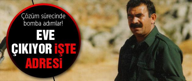 Abdullah Öcalan eve çıkıyor işte adresi