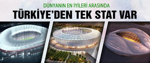 Dünyanın en iyi statları arasında bir Türk