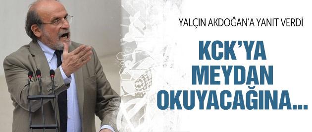 Kürkçü'den Yalçın Akdoğan'a jet yanıt!