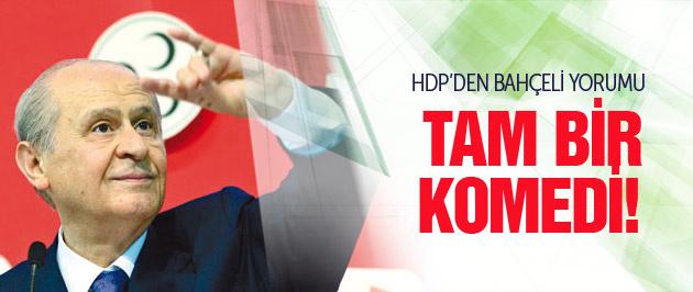 Bahçeli'nin Tunceli ziyaretine HDP yorumu!