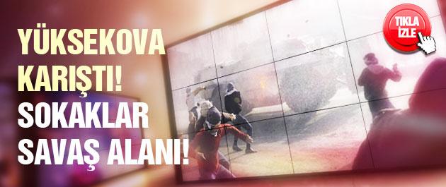 Yüksekova'da büyük gerilim! Şehir karıştı!