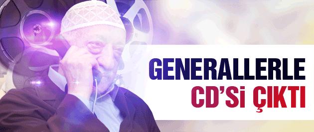 Fethullah Gülen'in generallerle CD'si çıktı