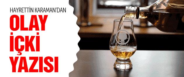 Hayrettin Karaman'dan olay içki önerisi