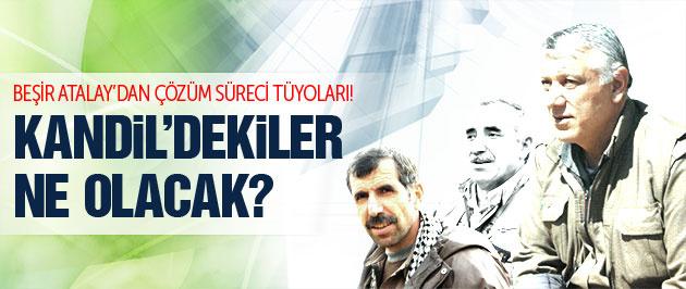 AK Parti'den süreç tüyosu: Kandil'dekiler ne olacak?