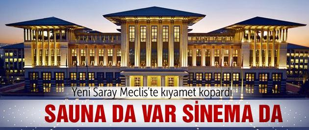 Meclis'te yine Saray kavgası var!