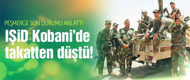 Kobani son durum! 'IŞİD takatten düştü!'