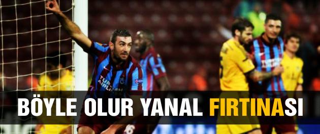 Trabzonspor Metalist'i devirdi