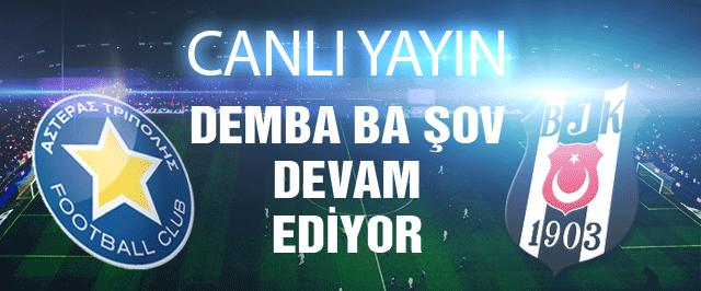 Beşiktaş Asteras Tripoli CANLI