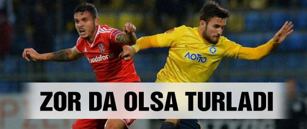 Beşiktaş Asteras Tripolis ile berabere kaldı