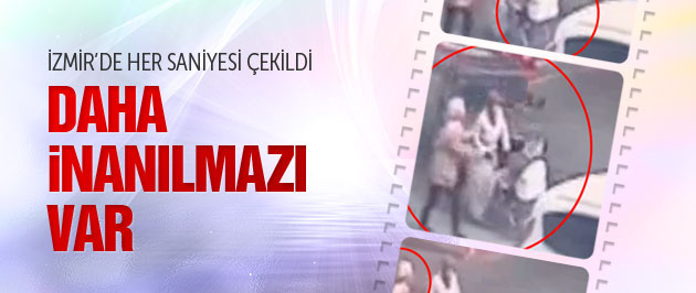 Türkiye'yi sarsan İzmir'deki video kaydı
