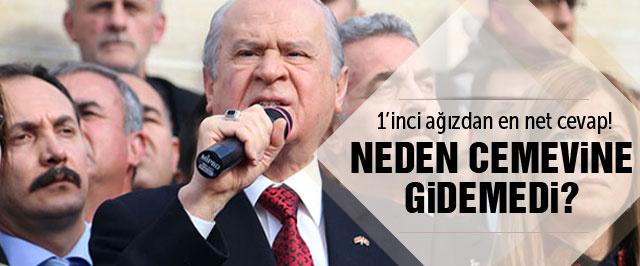 Bahçeli Tunceli'de neden reddedildi? İşte cevabı...