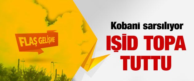 Kobani son durum IŞİD bombardımanı...