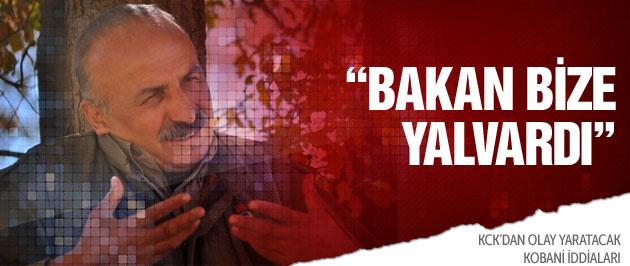 KCK'lı Karasu'dan Kobani iddiası:Bakan bize yalvardı!