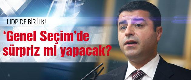HDP'den bir ilk Seçime parti olarak mı girecek?
