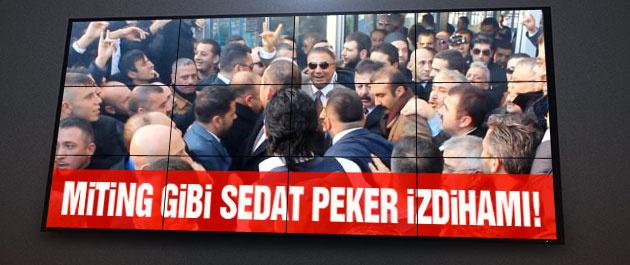 Sedat Peker izdihamı şaşkına çevirdi!