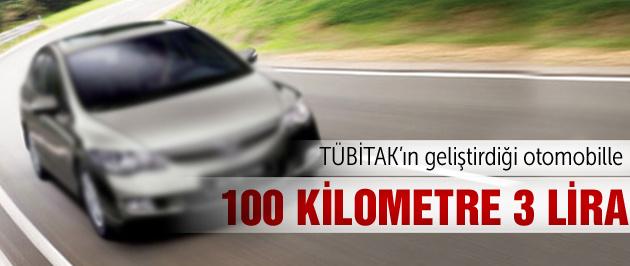 Türk otomobiliyle 100 kilometre 3 lira