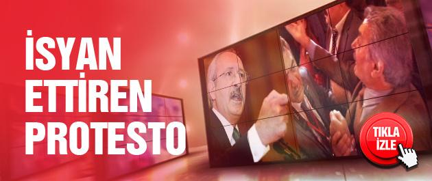 Kılıçdaroğlu'nu çıldırtan protesto!