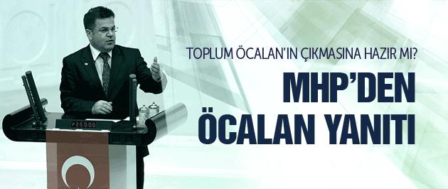 MHP'den Abdullah Öcalan ve çözüm komisyonu yorumu!