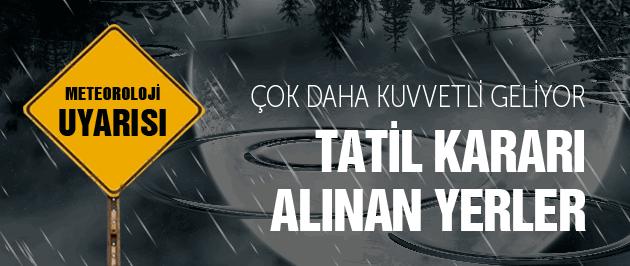 Antalya'da okullar tatil mi son dakika vali kararı