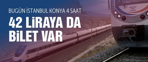 Hızlı tren İstanbul Konya seferleri ve bilet fiyatları