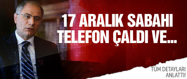 Efkan Ala tüm detayları anlattı! 17 Aralık sabahı...