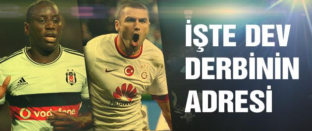 Beşiktaş derbinin adresini açıkladı