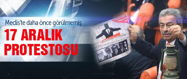 MHP ve CHP'den Meclis'te 17 Aralık protestosu