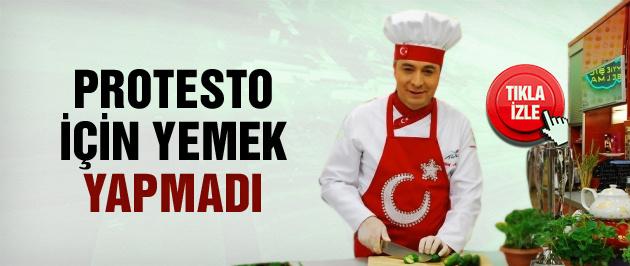 Oktay Usta'dan ilginç 14 Aralık protestosu!