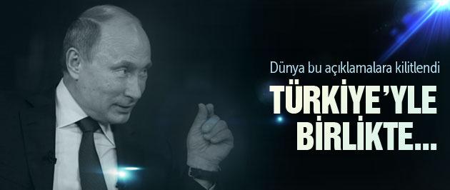 Rusya son dakika Putin'den Türkiye açıklaması