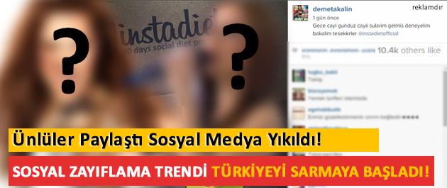 Ünlüler paylaştı sosyal medya yıkıldı!