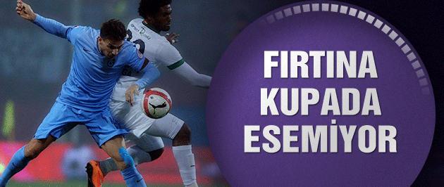 Trabzonspor: 0-0 :Akhisar Belediyespor (Maç sonucu ve özeti)