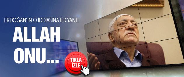 Fethullah Gülen'den Erdoğan'a faili meçhul yanıtı