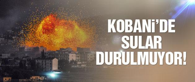 Kobani son durum IŞİD'e gece darbesi!
