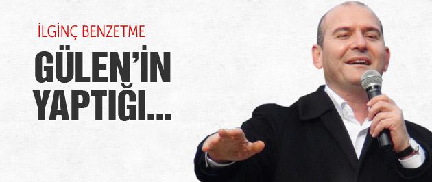 Süleyman Soylu'dan Gülen'e ilginç benzetme