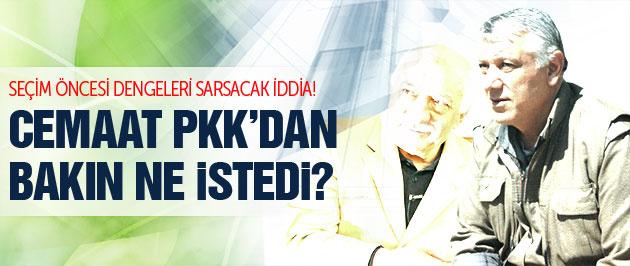 Cemaat Kandil'de PKK'dan ne istedi? Şok iddia!