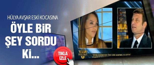 Hülya Avşar'dan eski kocasına aldatma sorusu