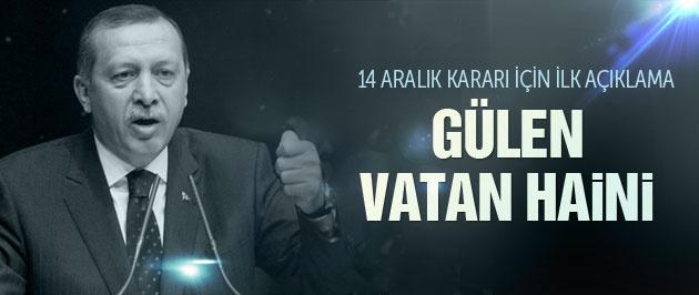 Cumhurbaşkanı Erdoğan'dan 14 Aralık açıklaması