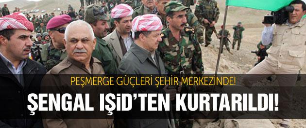 Şengal'den flaş haber! IŞİD kaçıyor...