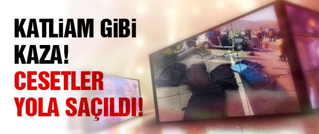 İzmir'de facia gibi kaza! Çok sayıda ölü var!