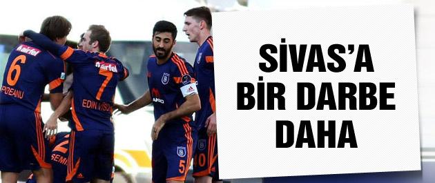 Sivas'a bir darbe de Başakşehir'den!