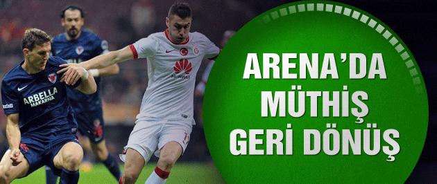 Galatasaray Mersin idmanyurdu maç sonucu ve özeti: 3-2